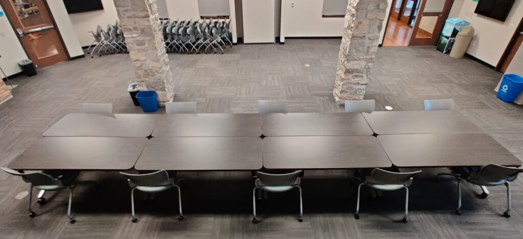 Conference Room ABC in Board Room Setup