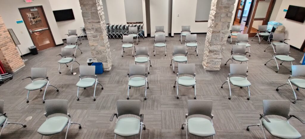 Conferencae Room ABC in Chairs Only Setup