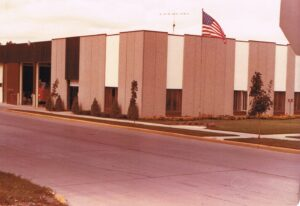 3.1975 Third municipal building on Second St.  Was former Badger Northland building.