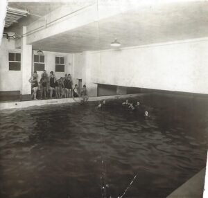 6.1921 Swimming pool located under the fire department.