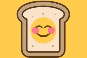 smiling sandwich
