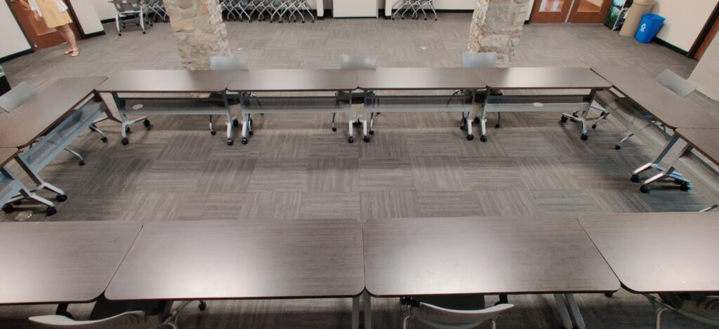 Conference Meeting Room Setup