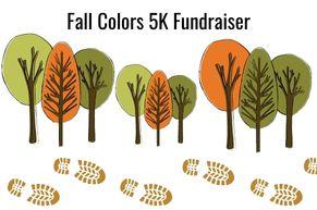 Fall Colors 5k Fundraiser Promo